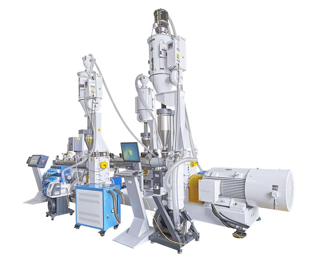 Linea de produccion de tuberia de multicapa de HDPE desde 20-315 mm