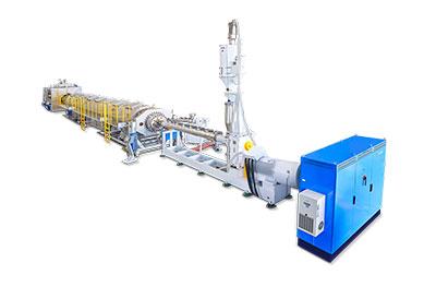 Linea de produccion de tuberias de gas y presion de HDPE