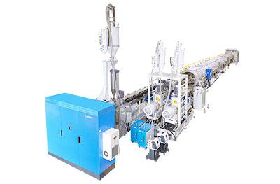 Linea de produccion de tubos de HDPE Muti capa