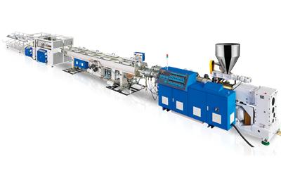 Linea de produccion de tuberia doble UPVC