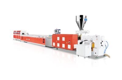Linea de produccion de perfiles de ventana LS-PVC