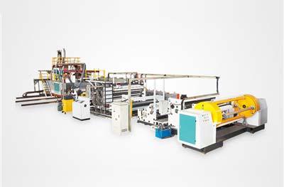 Linea de produccion de peliculas permeables CPE