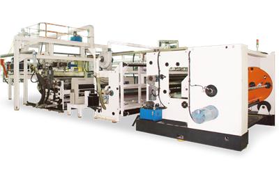 Linea de produccion de peliculas en relieve CPE EVA