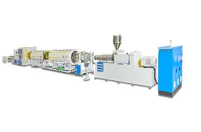 Linea de produccion de tuberias de UPVC