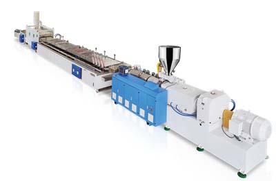 Linea de produccion de paneles de puerta LS-PVC