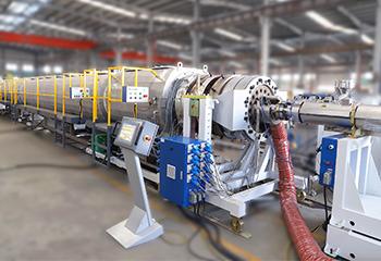 LSP-800 PE Linea de produccion de tubos solidos