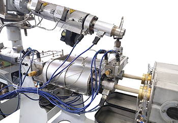 Línea de coextrusión de doble capa de doble tubo LSDP-32 PPR