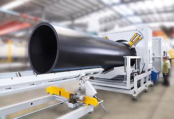 Línea de Extrusión de Tubos  LSP-1600 HDPE