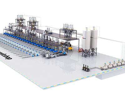 Aplicación de 『sistema automático de dosificación de polvo』 en la industria de extrusión plástica